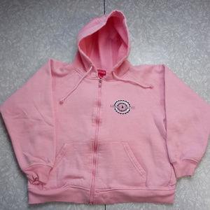 Eagle River Wisconsin Girls Pink Hoodie Sweatshirt